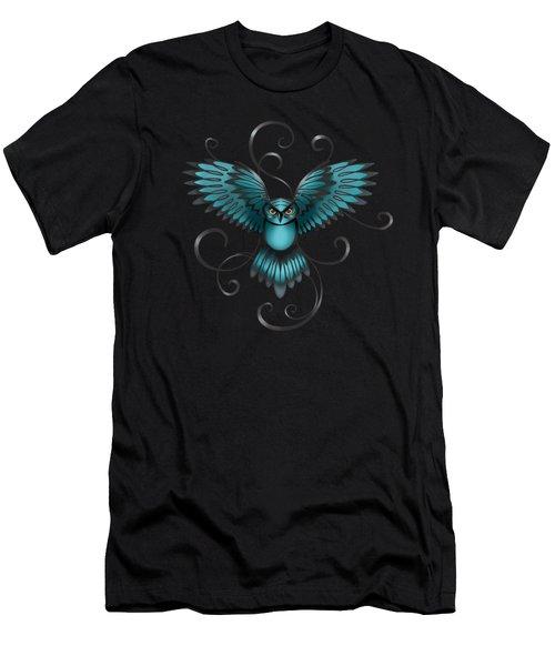 The Great Night Owl Of Kilmartin Men's T-Shirt (Athletic Fit)