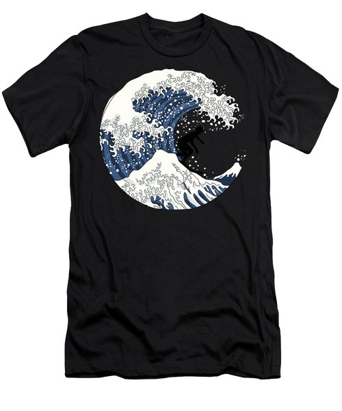 The Great Surfer Off Kanagawa Men's T-Shirt (Athletic Fit)