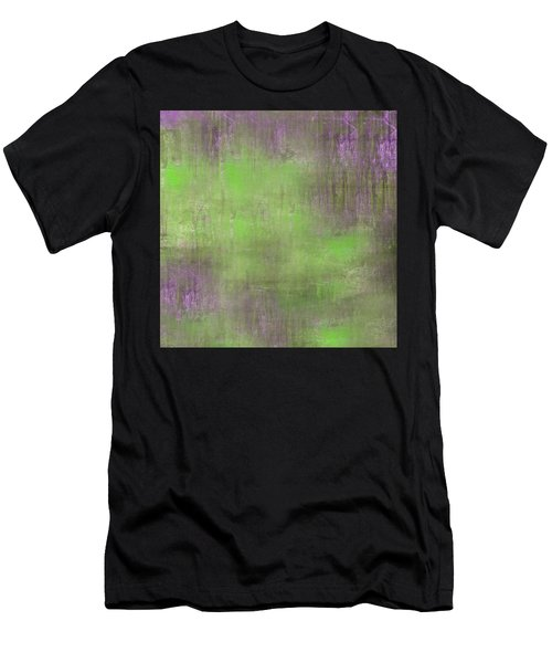 Men's T-Shirt (Athletic Fit) featuring the digital art The Green Fog by Mihaela Stancu