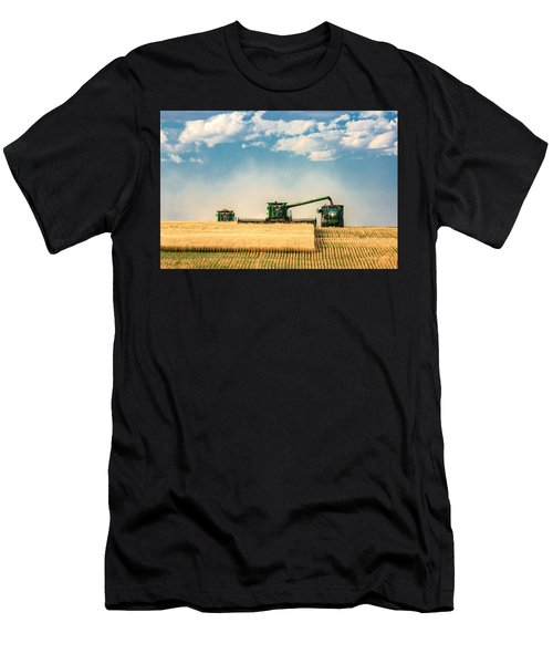 Men's T-Shirt (Athletic Fit) featuring the photograph The Green Machines by Todd Klassy