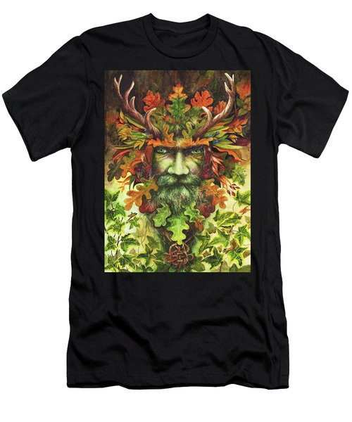 The Green Man Men's T-Shirt (Athletic Fit)