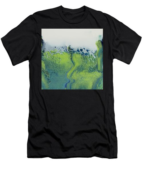 The Green Tides Men's T-Shirt (Athletic Fit)
