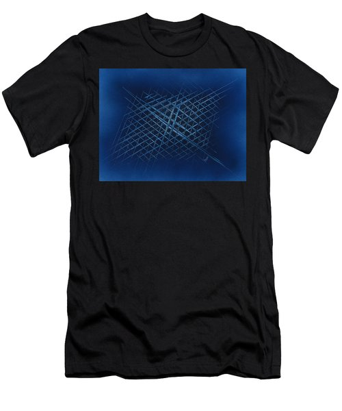 The Grid Men's T-Shirt (Athletic Fit)
