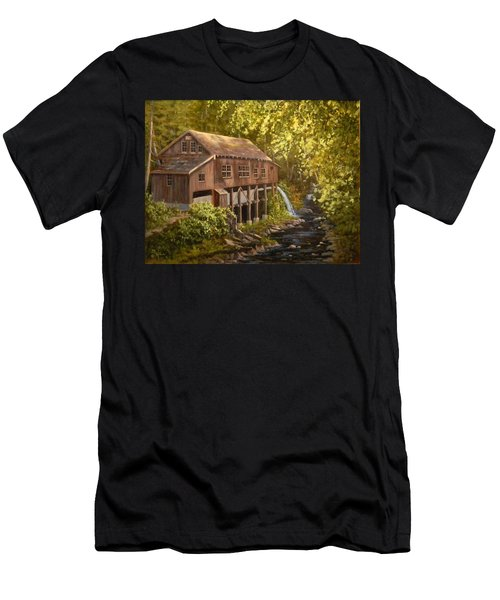 The Grist Mill Men's T-Shirt (Athletic Fit)