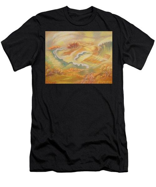 The Happy Tsunami Men's T-Shirt (Athletic Fit)