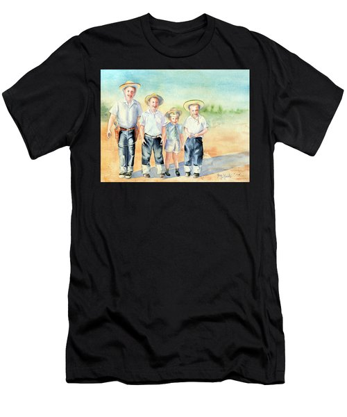 The Happy Wranglers Men's T-Shirt (Athletic Fit)