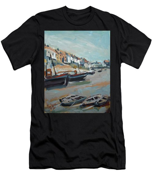 The Harbour Of Mevagissey Men's T-Shirt (Athletic Fit)