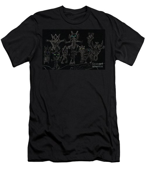 The Haunted Farmhouse Men's T-Shirt (Athletic Fit)