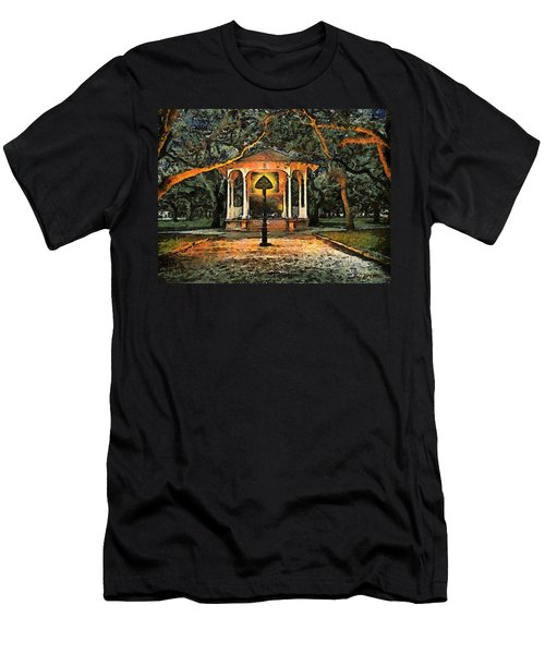 The Haunted Gazebo Men's T-Shirt (Slim Fit) by RC deWinter