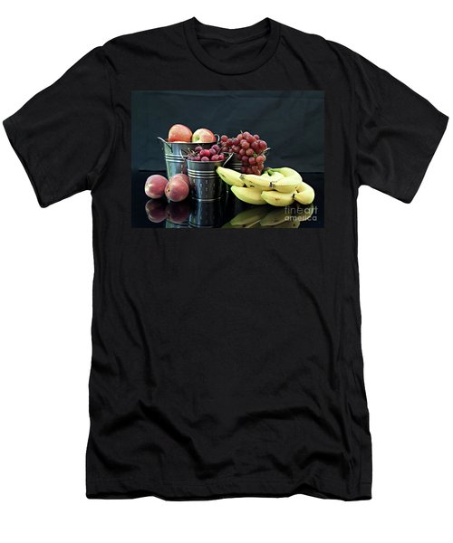 Men's T-Shirt (Slim Fit) featuring the photograph The Healthy Choice Selection by Sherry Hallemeier