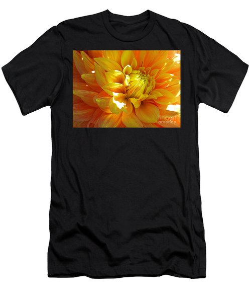 The Heart Of A Dahlia Men's T-Shirt (Athletic Fit)