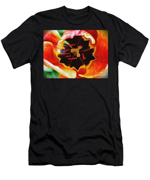 The Heart Of The Matter 2 Men's T-Shirt (Slim Fit) by Sarah Loft