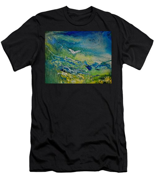 The Heavens And The Eart Men's T-Shirt (Athletic Fit)