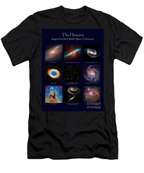 Men's T-Shirt (Athletic Fit) featuring the photograph The Heavens - Images From The Hubble Space Telescope by David Perry Lawrence