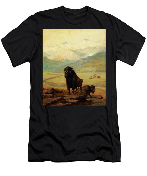 The Herd Bull Men's T-Shirt (Athletic Fit)