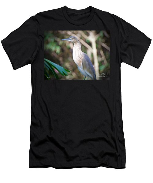 The Heron Men's T-Shirt (Slim Fit) by Judy Kay