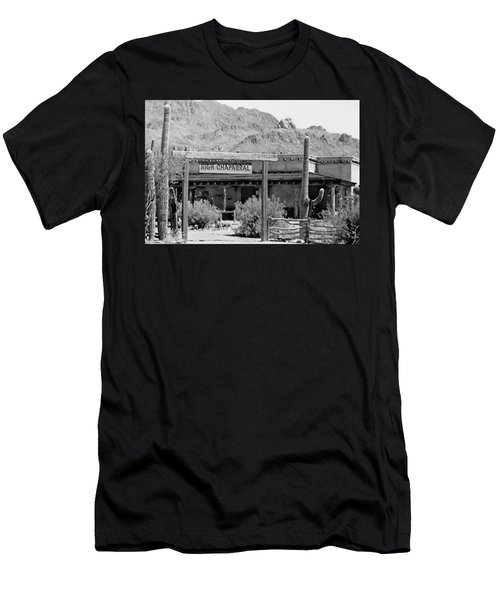 The High Chaparral Set With Sign Old Tucson Arizona 1969-2016 Men's T-Shirt (Athletic Fit)
