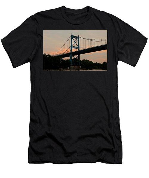 The High Level Aka Anthony Wayne Bridge I Men's T-Shirt (Athletic Fit)