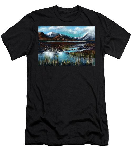 The Highlands - Scotland Men's T-Shirt (Athletic Fit)