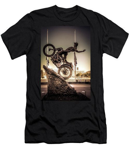 The Hill Climber Men's T-Shirt (Athletic Fit)