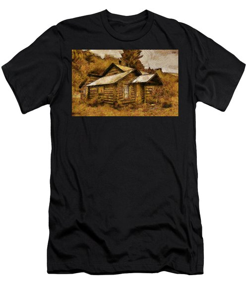 The Hillbilly Cabin Men's T-Shirt (Athletic Fit)