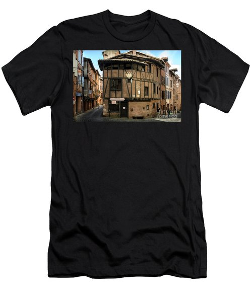 The House Of The Old Albi Men's T-Shirt (Slim Fit) by RicardMN Photography