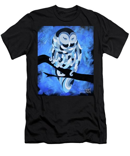 The Ice Owl Men's T-Shirt (Athletic Fit)