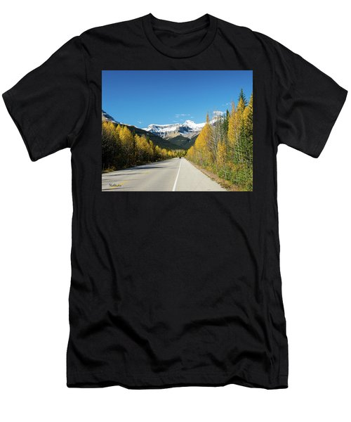 The Icefields Parkway Men's T-Shirt (Athletic Fit)