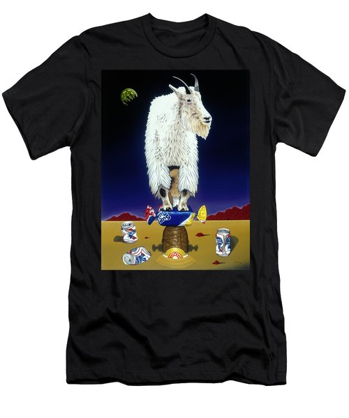 The Intoxicated Mountain Goat Men's T-Shirt (Athletic Fit)