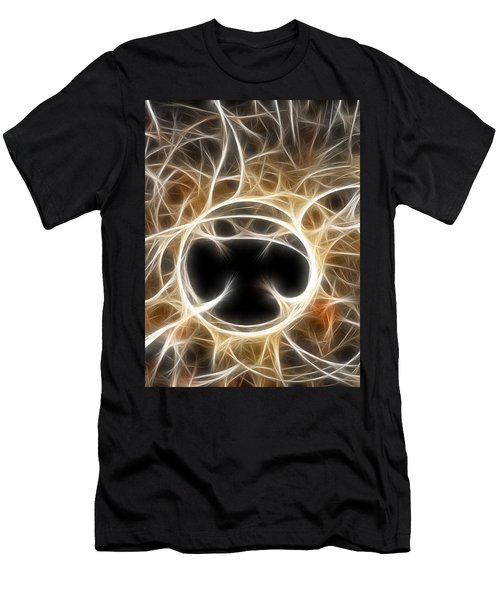 Men's T-Shirt (Slim Fit) featuring the digital art The Invitation by Holly Ethan