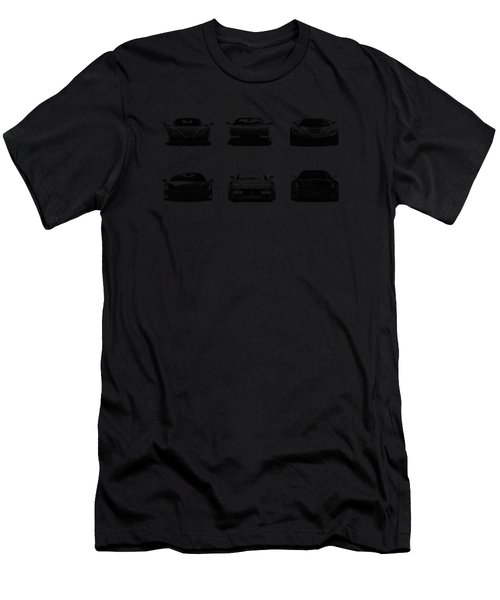The Italian Supercar Collection Men's T-Shirt (Athletic Fit)