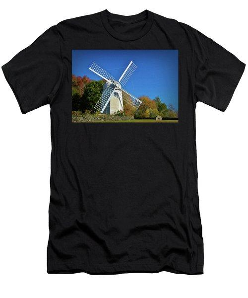 The Jamestown Windmill Men's T-Shirt (Athletic Fit)
