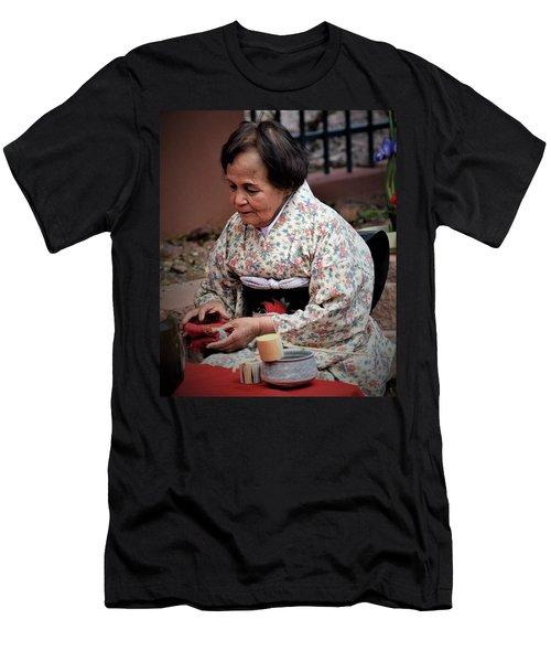 The Japanese Tea Ceremony Men's T-Shirt (Slim Fit) by John Glass