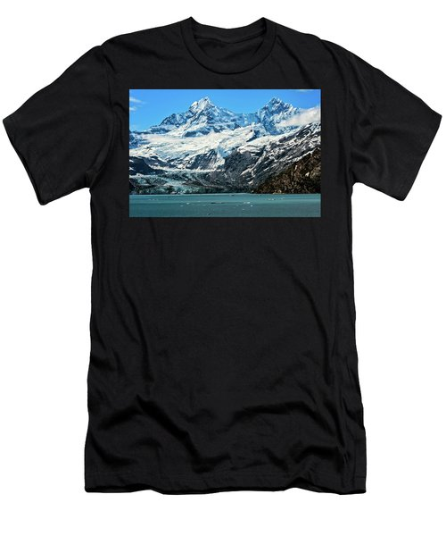Men's T-Shirt (Athletic Fit) featuring the photograph The John Hopkins Glacier by John Hight