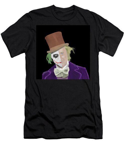 The Joker But A Little Bit 'wilder' Men's T-Shirt (Athletic Fit)