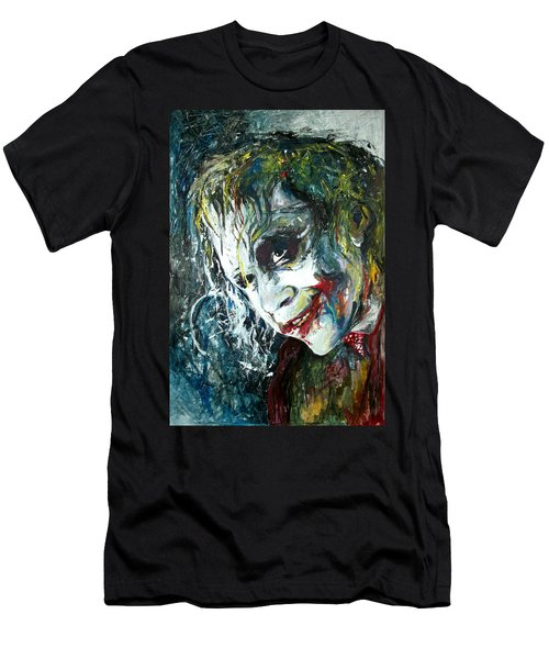 The Joker - Heath Ledger Men's T-Shirt (Athletic Fit)