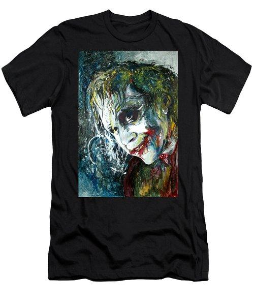 The Joker - Heath Ledger Men's T-Shirt (Athletic Fit)