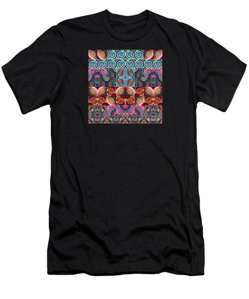 The Joy Of Design Mandala Series Puzzle 7 Arrangement 3 Men's T-Shirt (Athletic Fit)