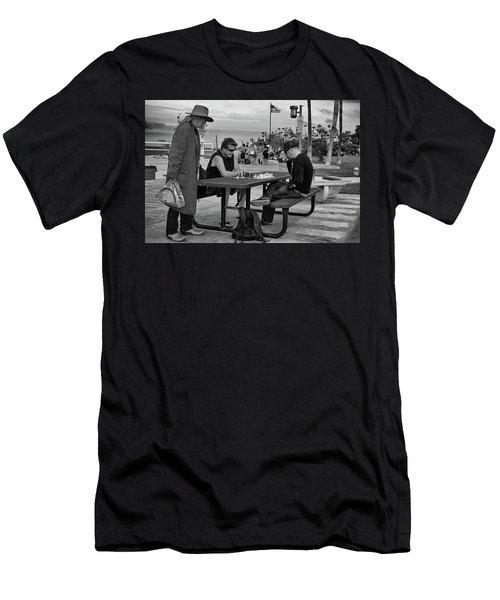 The Kibitzer Men's T-Shirt (Athletic Fit)