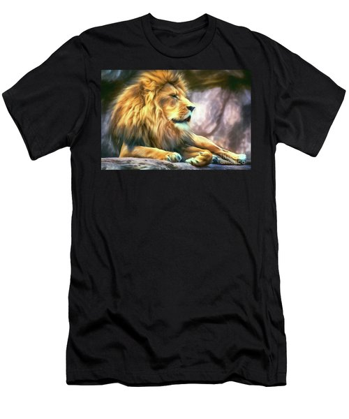 The King Of Cool Men's T-Shirt (Athletic Fit)