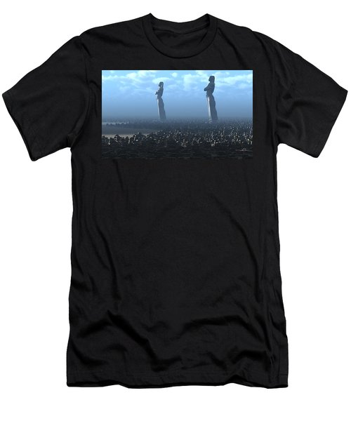 The Kings Await Morning Men's T-Shirt (Athletic Fit)