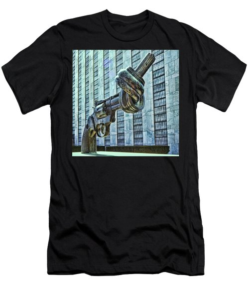The Knotted Gun Men's T-Shirt (Athletic Fit)