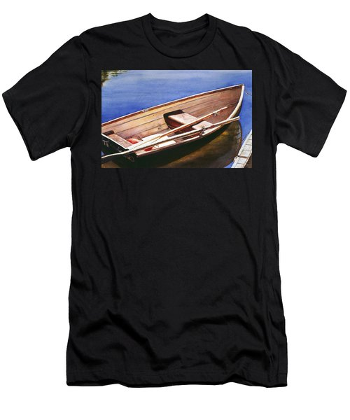 The Lake Boat Men's T-Shirt (Athletic Fit)