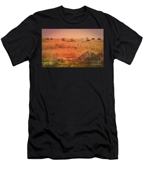 The Landscape Of Dungeness Beach, England 2 Men's T-Shirt (Athletic Fit)