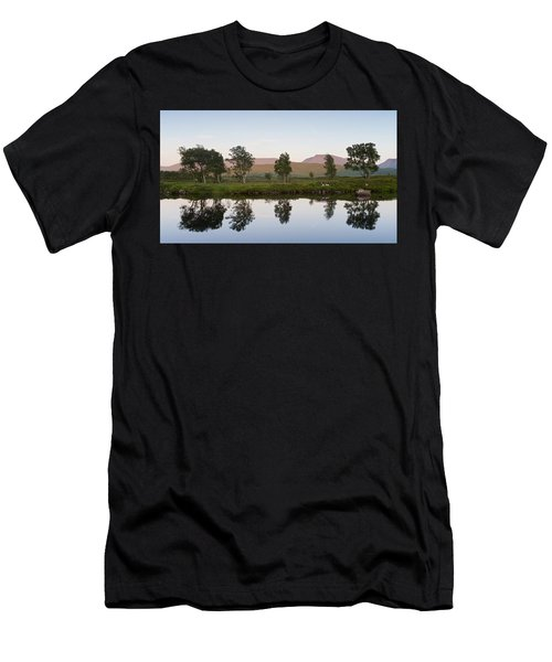 The Last Light At Loch Ba Men's T-Shirt (Athletic Fit)