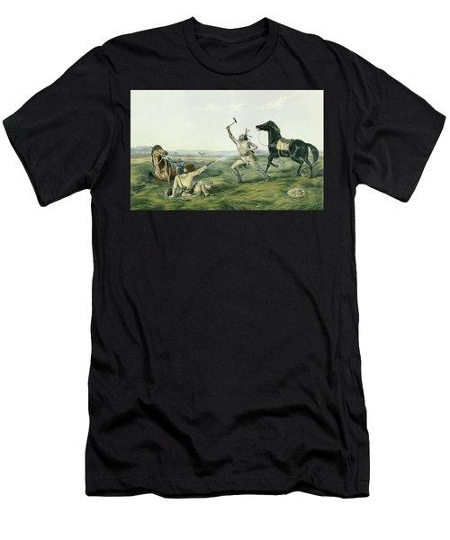 The Last Shot Men's T-Shirt (Athletic Fit)