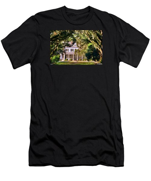 The Legare-waring House At Charles Town Landing Men's T-Shirt (Athletic Fit)