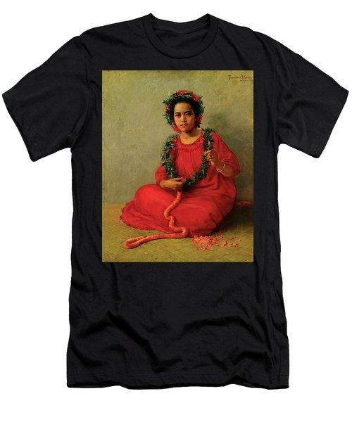 The Lei Maker Men's T-Shirt (Athletic Fit)