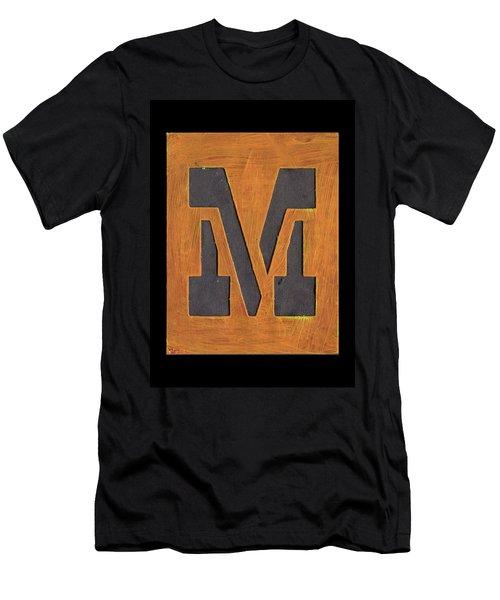 The Letter M Men's T-Shirt (Athletic Fit)