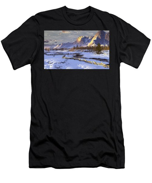 The Life Of Snow Men's T-Shirt (Athletic Fit)